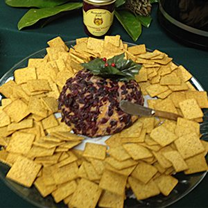 cran-walnut cheese ball
